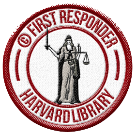 copyright first responder badge